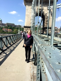 Walking on Chain Bridge